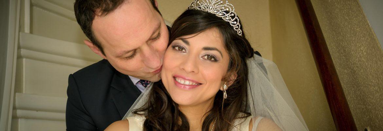 Adriana and Jeroen – indoor trouwreportages
