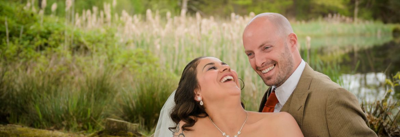 Bruiloft foto's van een liefelijk paar | Bruidsfotografie